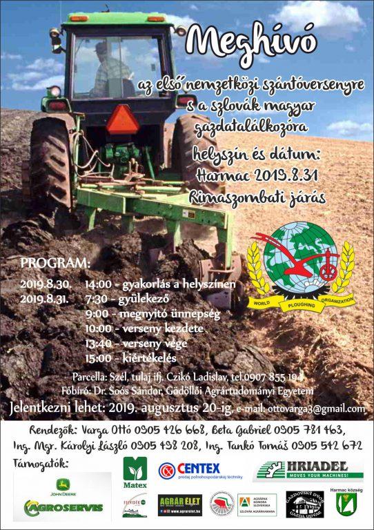 Nemzetközi szántóverseny Harmacon