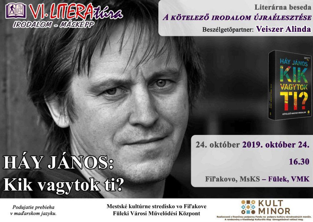 VI. LiteraTúra Füleken - Háy János: Kik vagytok ti?