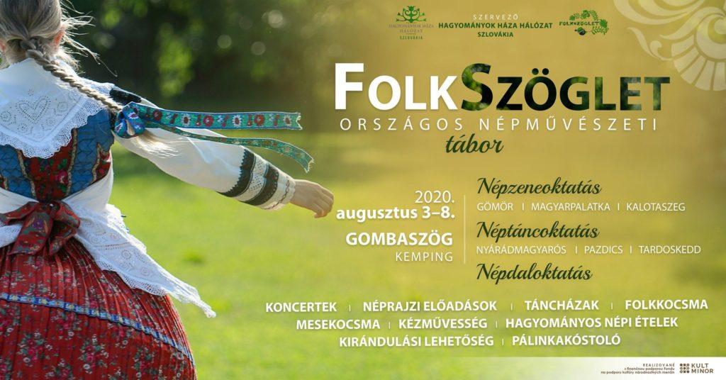 FolkSzöglet Országos Népművészeti Tábor Gombaszögön