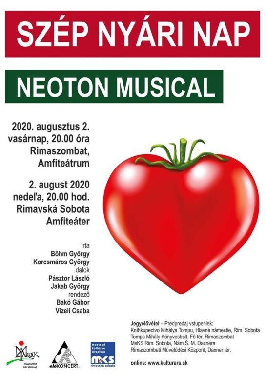 Szép nyári nap c. musical Rimaszombatban
