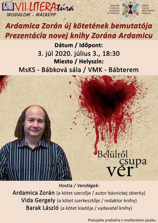 Ardamica Zorán könyvbemutatója Füleken