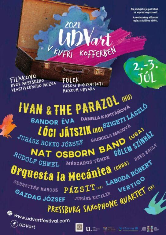 Az UDVart fesztivál nyitórendezvénye