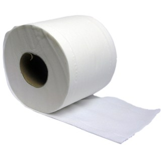 Gompels Double Length Toilet Tissue 400 Sheet 2ply 60 Rolls     Gompels Double Length Toilet Tissue 400 Sheet 2ply 60 Rolls