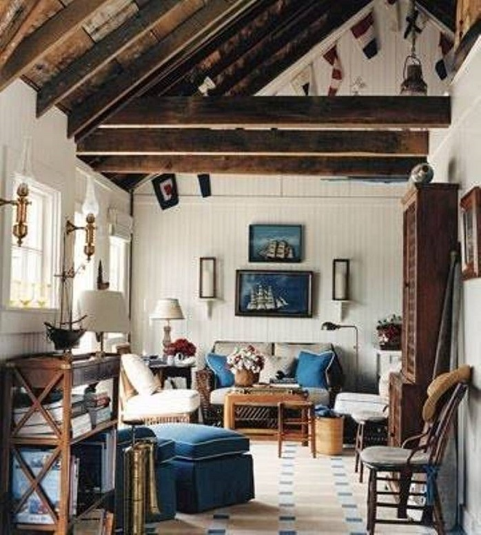 Nautical Home Decorating Rustic Nautical Home Design