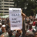 Ethiopian protesters
