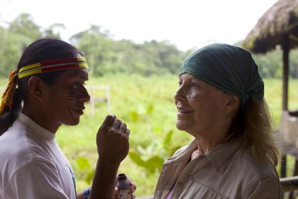 Achuar indigenous tribe