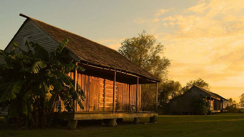 Slave Cabin at Whitney Plantation