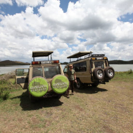 Our Land Cruisers are Safe and Comfortable, Take Photos Through the Pop-Top!