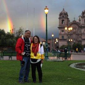 Rainbows in Cusco