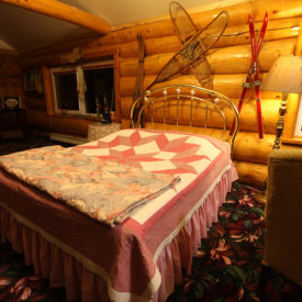 Cozy Rooms with Quirky Antiques at A Taste of Alaska Lodge