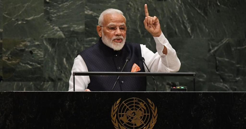 Narenda Modi UNGA Speech 2019