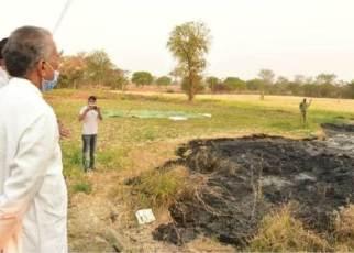 tamradhwaj-sahu-bathena-crime-scene-visit-08-march-2021