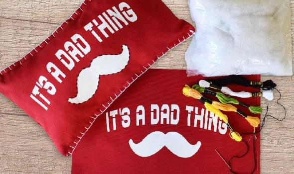 Father's Day Lumbar Pillow Kit