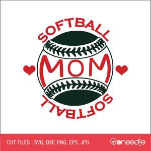 Mother's Day Cut File - Sports Mom