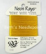 Neon Rays Sun Gold N140