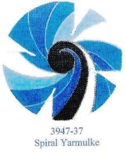 Spiral Yarmulke