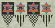 Checkered  Dreidel (3d)