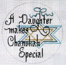 A Daughter Makes Chanukah Special