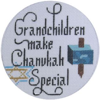 Grandchildren Make Chanukah Special Ornament