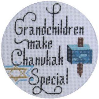 Grandchildren Make Chanukah Special Ornament