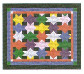 Patchwork Star Tallit