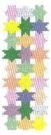 Pastel Stars Mezuzah