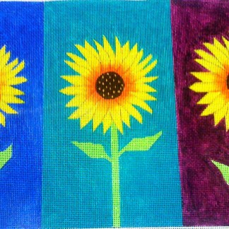 Triple Sunflowers