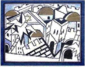 City Blue Tallit
