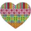 Stripes Coins Dots and Hearts