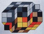 Vasarely #4 Canvas