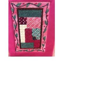 Gone Stitching Sampler Siddur Cover