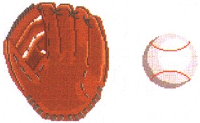 Baseball Glove Tooth Fairy Pillow