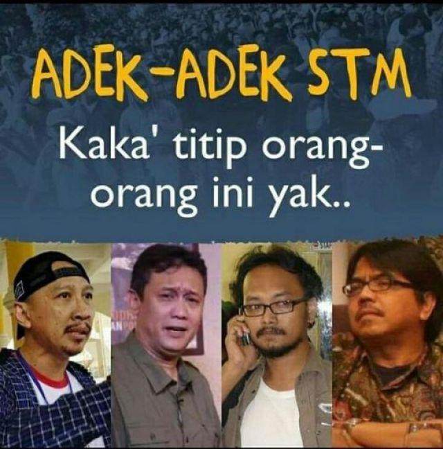 GoRiau - Lagi Viral, Denny Siregar Dicari Anak STM, Warganet: Sekalian  Titip Cari Abu Janda Ya Adek-adek