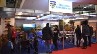 Atracțiile turistice sunt promovate la Expo fishing & hunting. FOTO APDL Tulcea