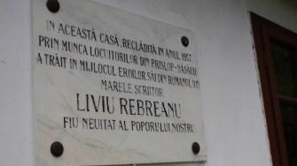 """Casa memorială """"Liviu Rebreanu"""". FOTO Adrian Boioglu"""