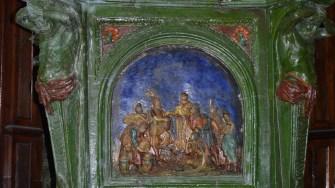 O piesă orginală din vechiul Castel Bánffy. FOTO CJ Cluj