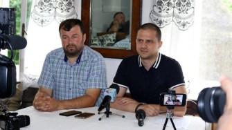 Ministrul Turismului, Bogdan Trif, a fost ghid pentru jurnaliștii străini. FOTO Ministerul Turismului