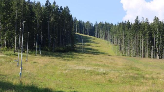 O pârtie de schi fără drum de acces. FOTO Ministerul Turismului