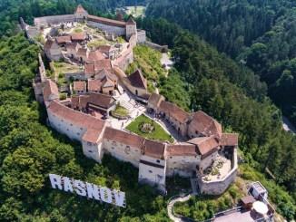 Cetatea Râșnov. FOTO Facebook
