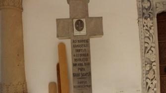 Mormântul lui Popa Șapcă. FOTO Adrian Boioglu
