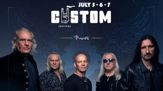 Afișul concertului trupei Uriah Heep de la Reșita
