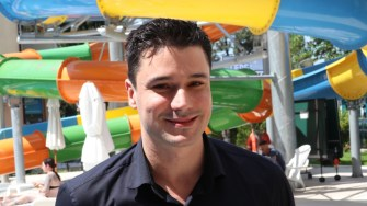 Martin Gochev, manager la Best Western Plus Premium Inn, din Sunny Beach Bulgaria. FOTO Adrian Boioglu