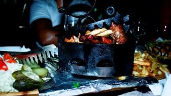 Restaurantul Cetate din Băile Balvanyos. FOTO Cristina Niță