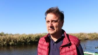Guvernatorul Rezervației Biosferei Delta Dunării, Cătălin Țibuleac. FOTO Adrian Boioglu