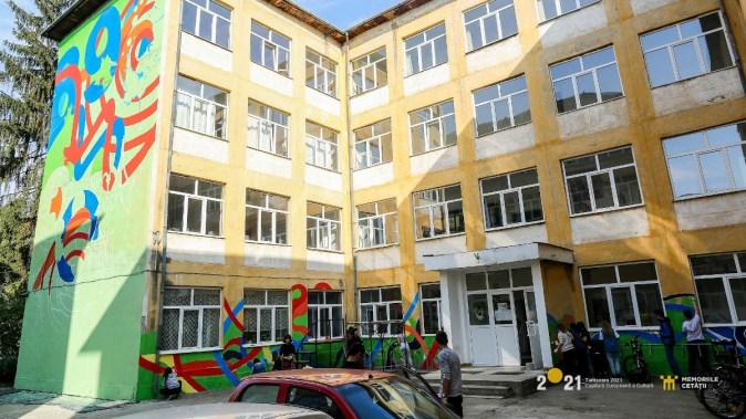 Artiștii dau o nouă față Timișoarei. FOTO Asociația Timișoara 2021 – Capitală Europeană a Culturii