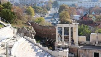 Amfiteatrul Roman din Plovdiv. FOTO Adrian Boioglu