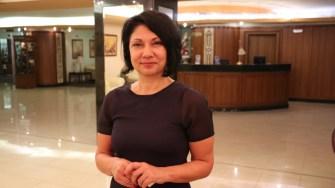 Radost Ivanova, director de marketing pentru Capitala Culturală Europeană. FOTO Adrian Boioglu