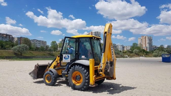 Plajele din Constanța au fost curățate de construcțiile ilegale. FOTO ABADL