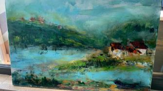 Tabără de pictură la Eforie. FOTO GoNext.ro