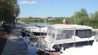 Ambarcațiuni în zona Lunca din Delta Dunării. FOTO Paul Alexe